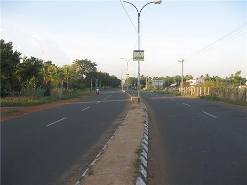 Roads In Thanjavur