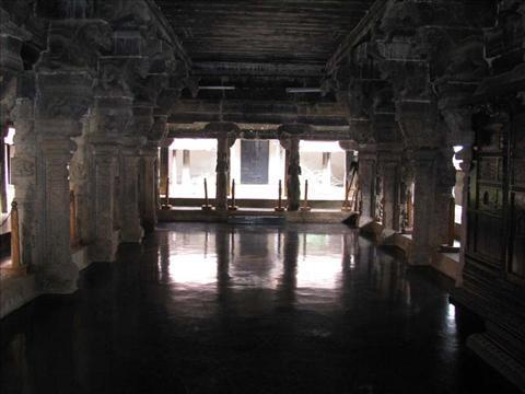 dance hall in padmanabhapuram palace