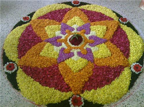 onam decoration