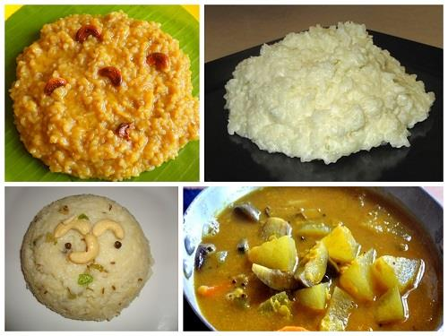 Pongal dishes