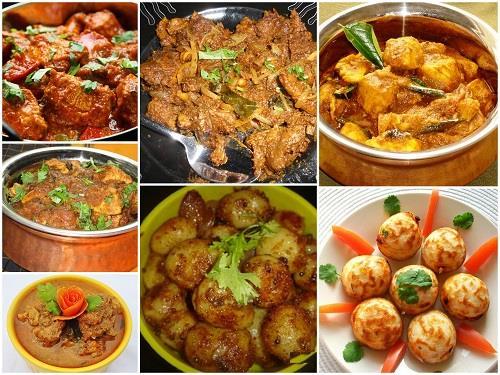 Chettinadu Dishes