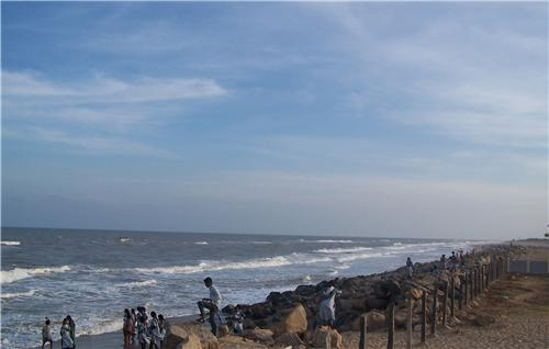 Top beaches in Tamil Nadu