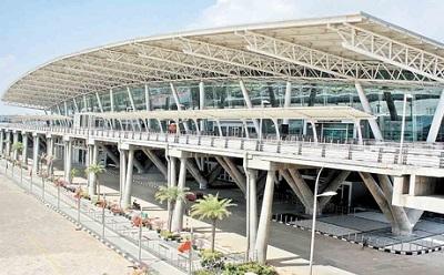 Airport of Chennai