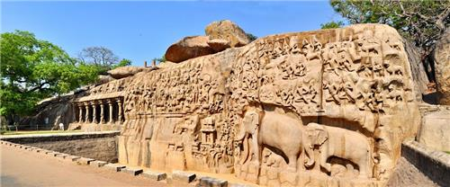 Monuments in Mamallapuram