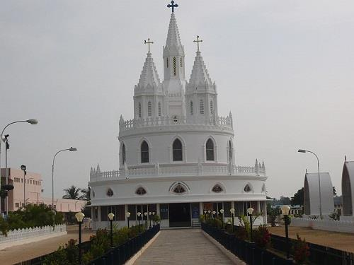 Adoration Center in Velankanni
