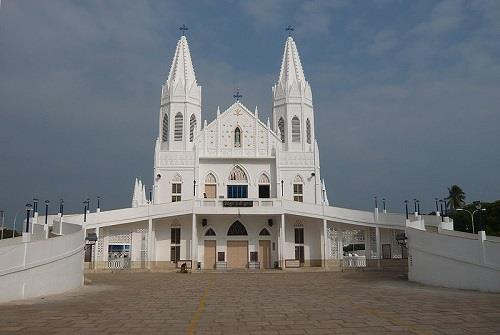 Church Extn in Velankanni