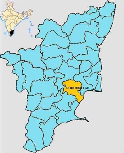 Pudukkottai Map