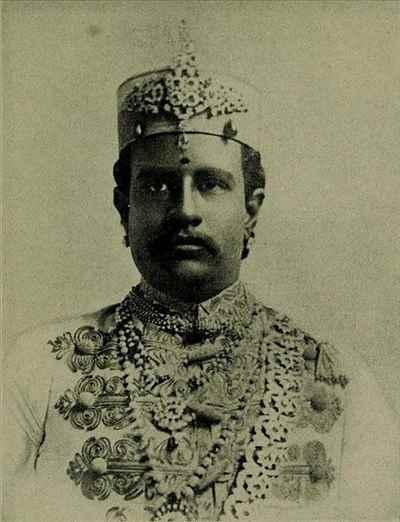 Raja of Ramnad Bhaskara Sethupathy