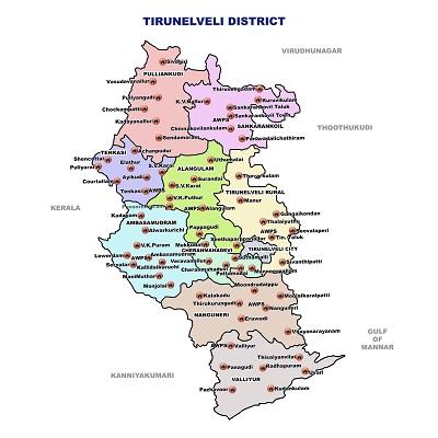 Police Map Nellai