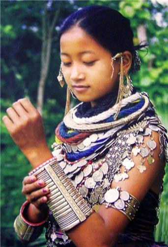 Tripura Tribal Jewelery