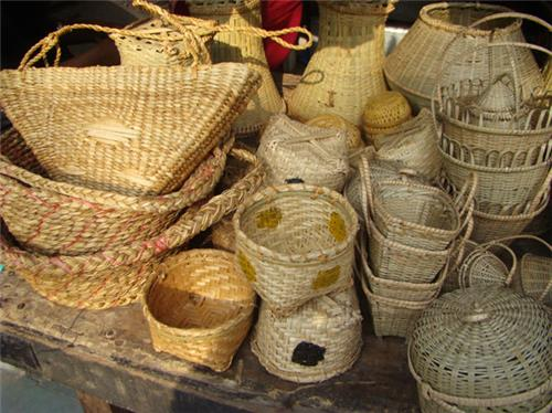Bamboo baskets of tripura come in different shapes and sizes