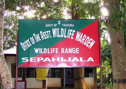 Wildlife in TRipura