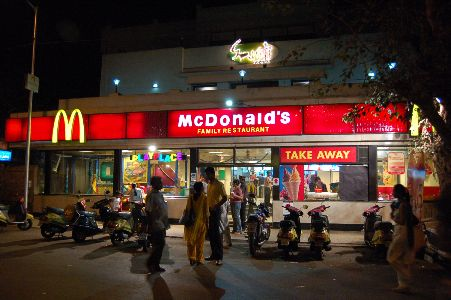 Fast food restaurants in Ulhasnagar