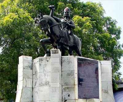 Statue of Rao Bux Singh