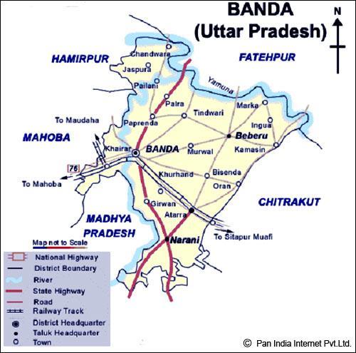 Banda District of Uttar Pradesh