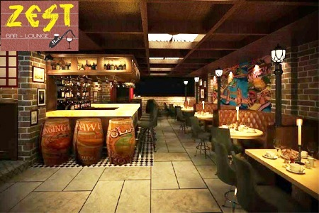 Zest Bar and Lounge in Noida