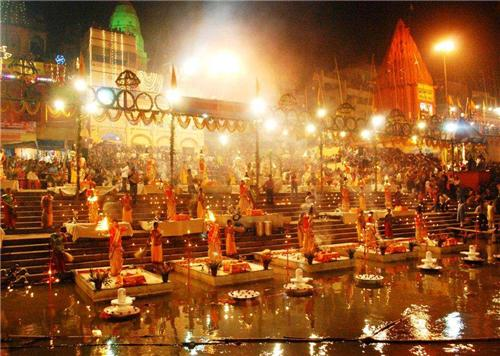 Ganga Arati at Varanasi