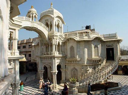 ISKCON Temple at Vrindavan
