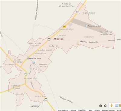 Localities of Akbarpur