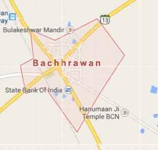 Geography of Bachhrawan