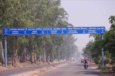 Roadways in Baghpat