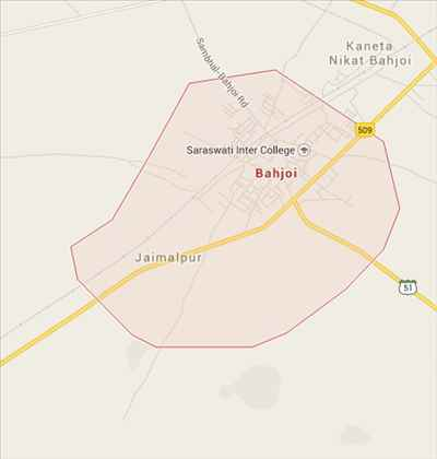 Geography of Bahjoi