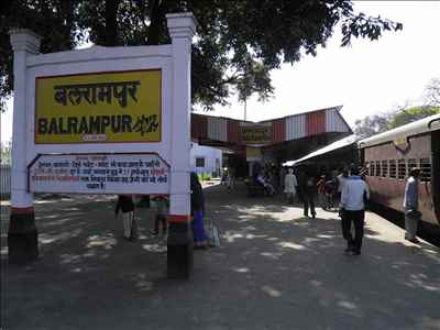 Railways in Balrampur