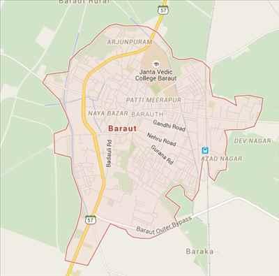 Geogrpahy of Baraut
