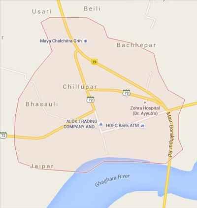 Geography of Barhalganj
