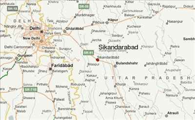 Travel to Sikandrabad