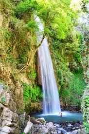 A view of the Tiger Falls in Chakrata