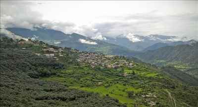 A view of Gopeshwar town