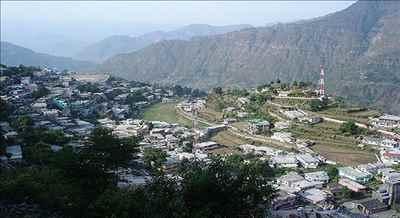 A view of Chamoli City
