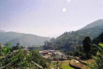 Dharasu Town