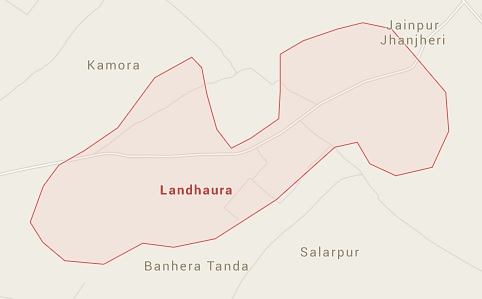 Geography of Landhaura