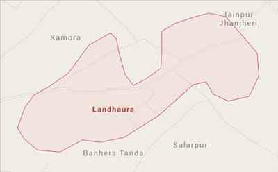 Geography of Landhaura