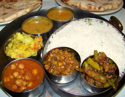 Veg food in Varanasi