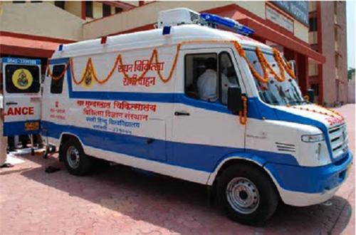 ambulance service providers in Varanasi