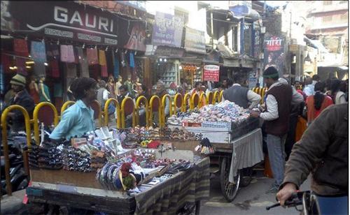 Chowk in Varanasi