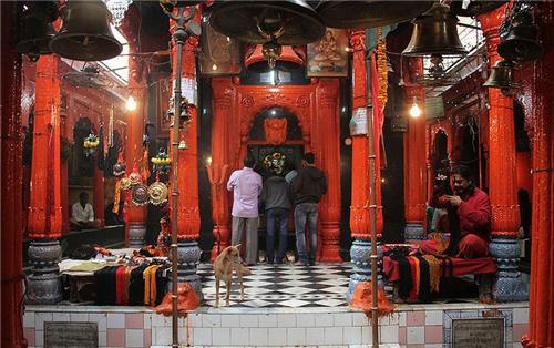 Kalbhairav temple in Varanasi