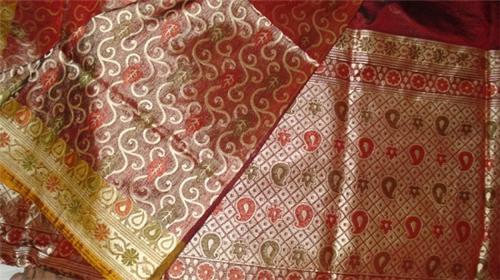 Modern design of Banarasi Saree