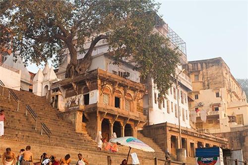Ganga Mahal Monument in Varanasi