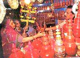 Markets in Varanasi