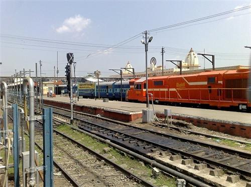 Varanasi railway station Map