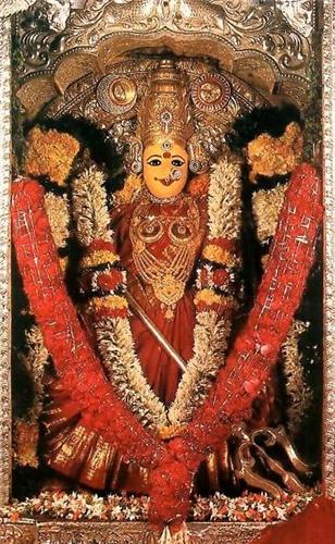 Kanaka Durga Idol