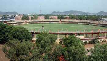 Indira Gandhi Stadium at Vijayawada