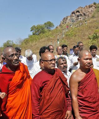 Buddhist site in Visakhapatnam