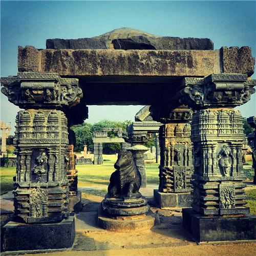 Architecture of Warangal Fort