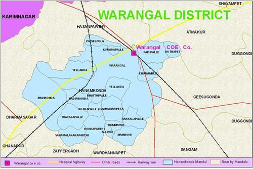 Geography of Warangal