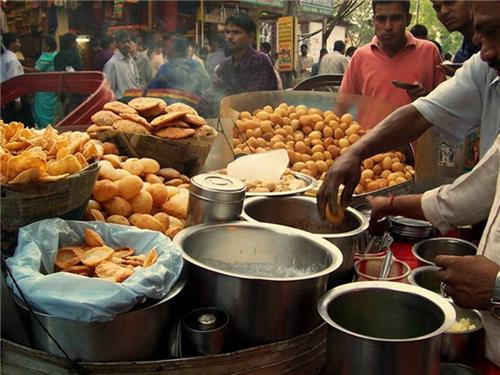 Phuchka in Kolkata
